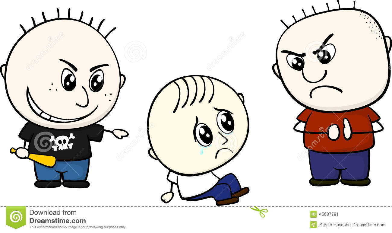 Bullied Stock Illustrations.