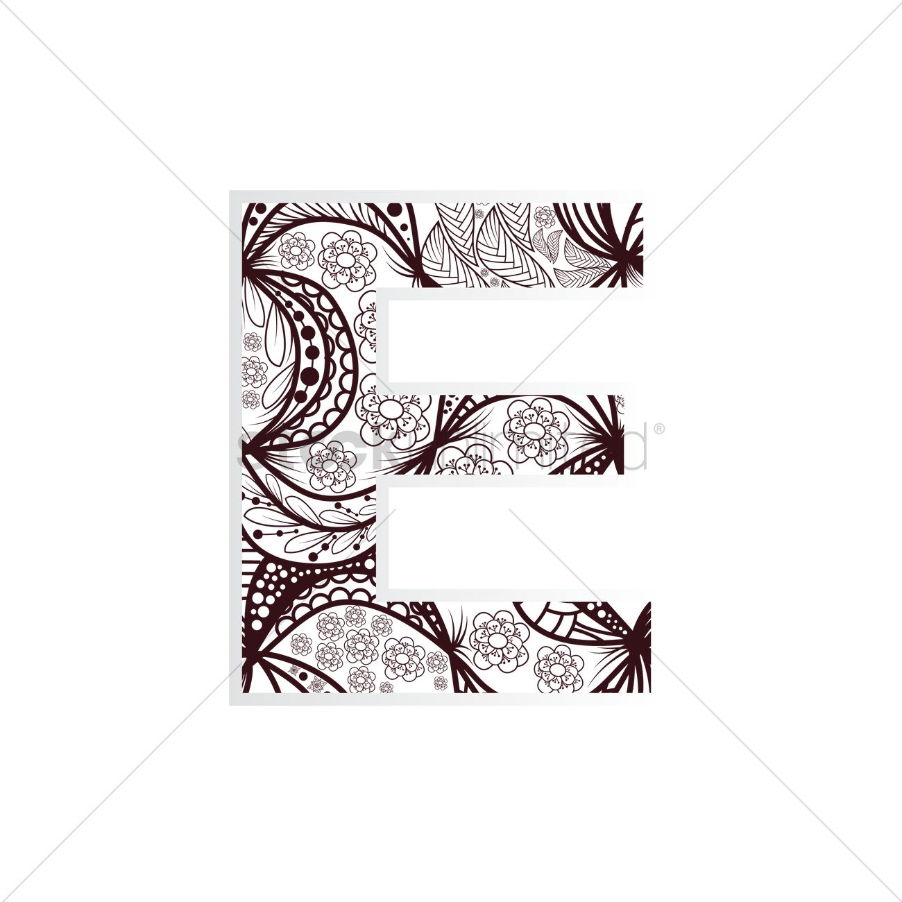 Intricate Alphabet Clipart E 20 Free Cliparts Download
