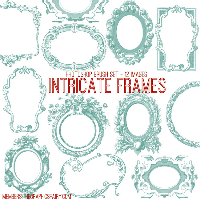 Intricate Frames Bundle.
