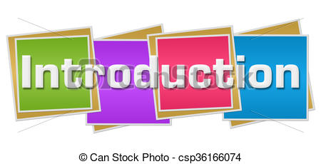 Clipart of Introduction Colorful Waves.
