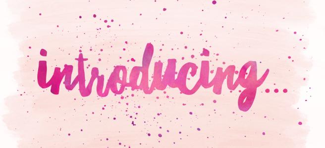Introducing….