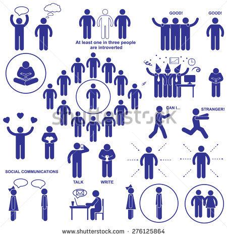Introvert Stock Vectors, Images & Vector Art.