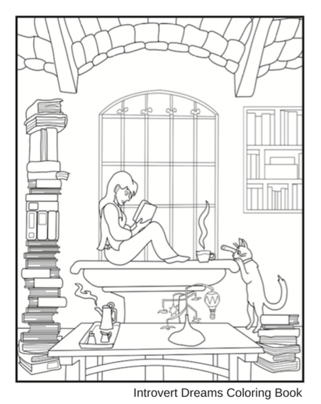 6 Reasons Why Introverts And Coloring Go Hand In Hand.