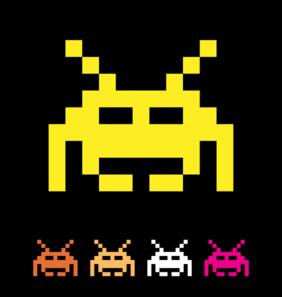 Space Invader Clip Art at Clker.com.