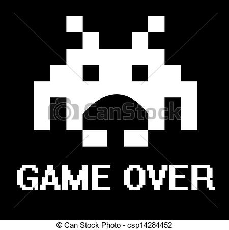 Space invaders game Clipart and Stock Illustrations. 101 Space.