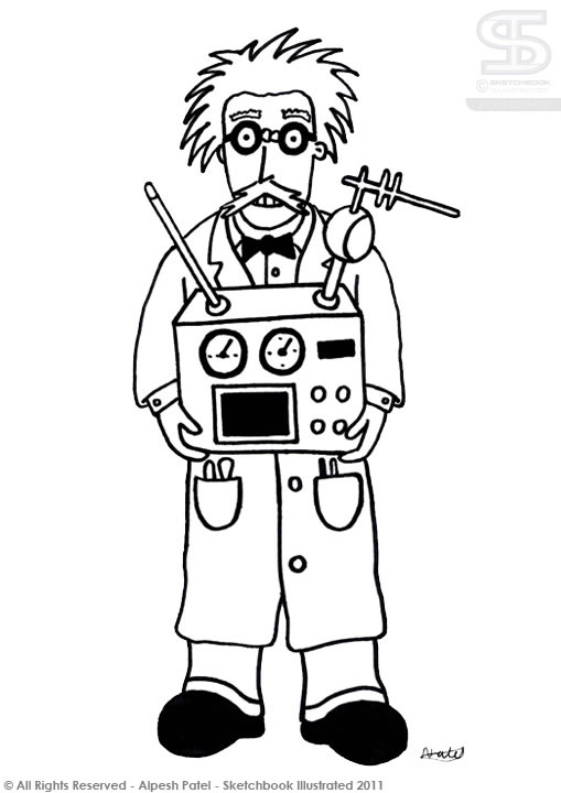 Inventor clipart free.