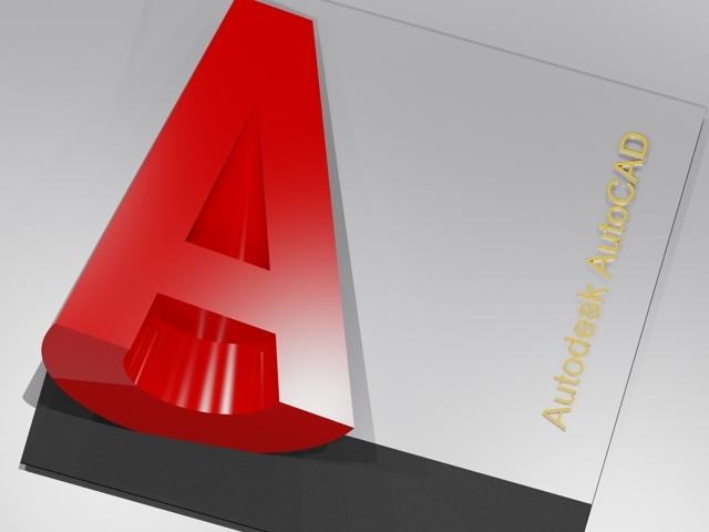Autodesk AutoCAD Logo.