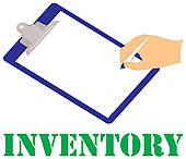 Inventory Clip Art.