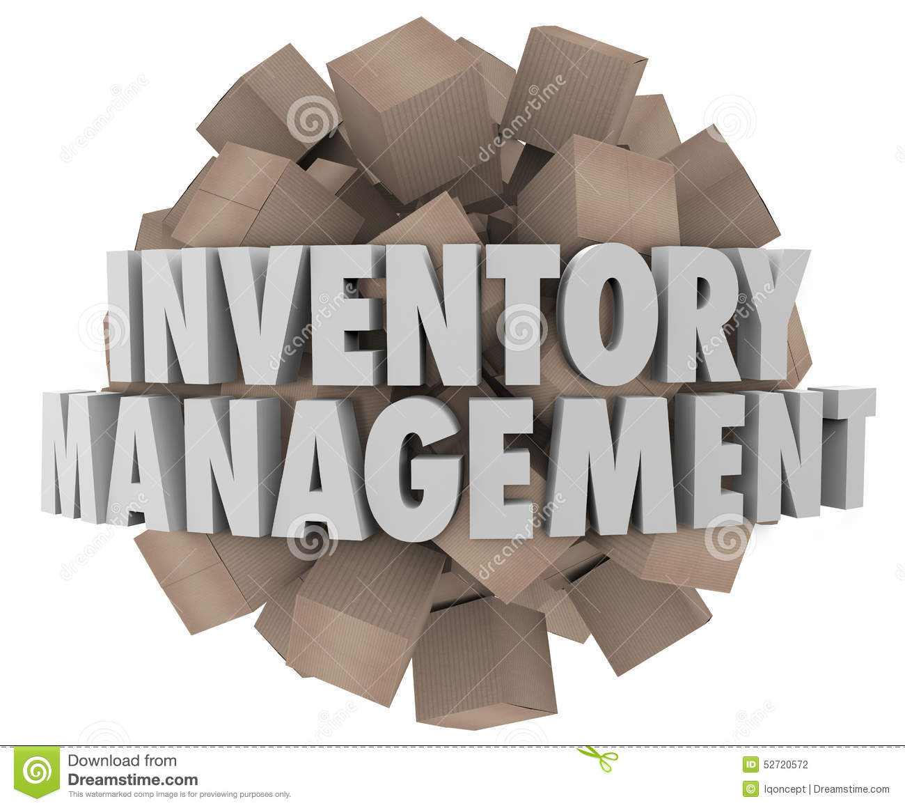 Computer inventory clipart.