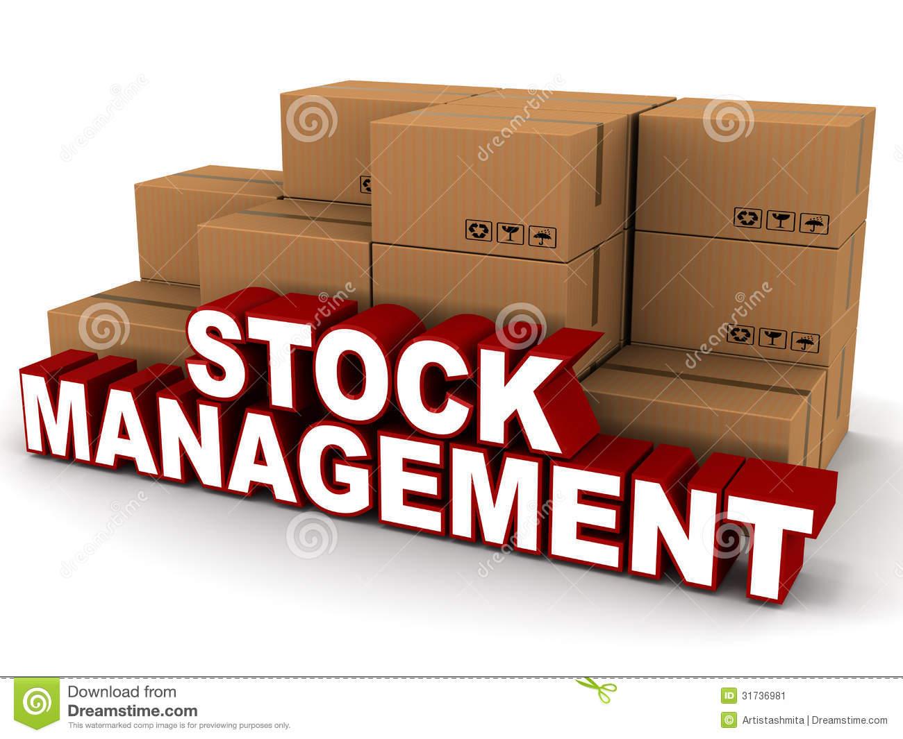 Inventory Stock Illustrations.