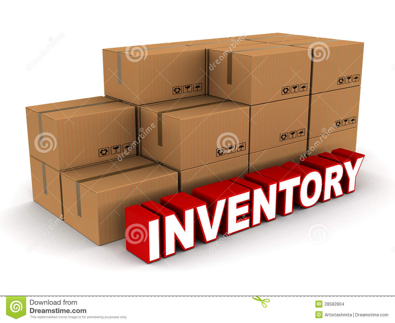 Inventory Clipart.