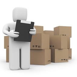 Warehouse inventory clipart.