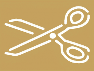 Scissors Outline Inverse Clip Art Download.
