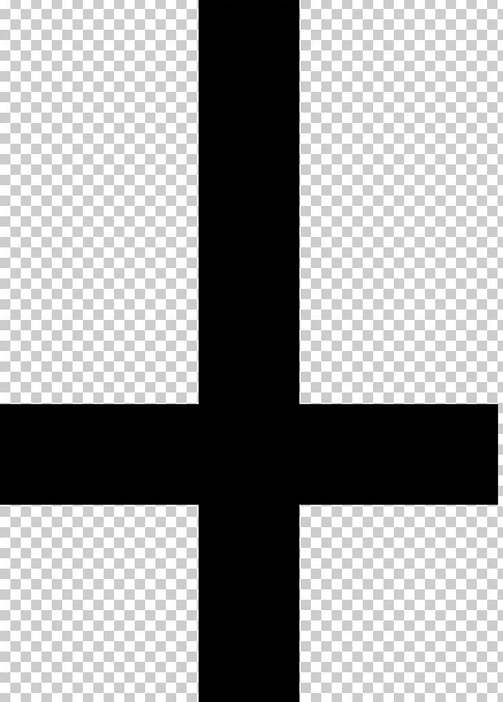 Cross Of Saint Peter Christian Cross Variants Symbol.