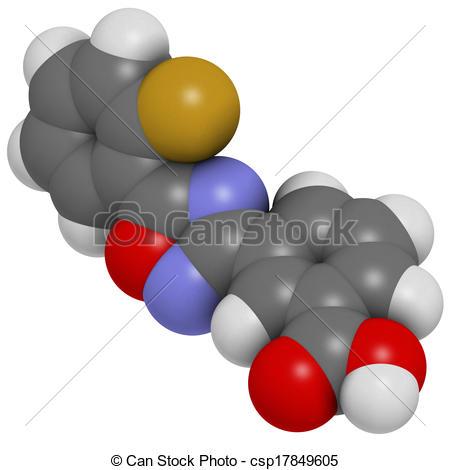 Stock Illustration of Ataluren genetic disorder drug. Investigated.