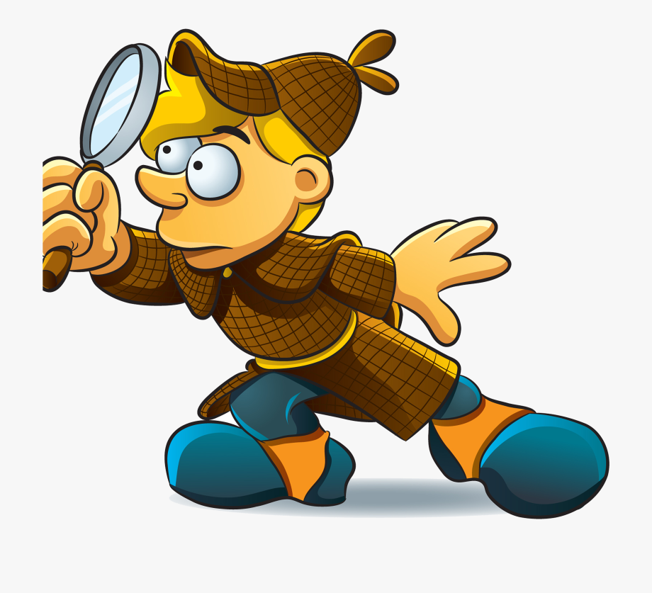 Investigate Cartoon , Transparent Cartoon, Free Cliparts.