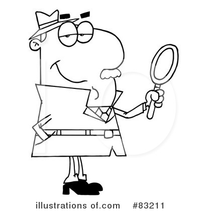 Investigating Clipart #83211.