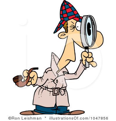 Private Investigator Clipart.