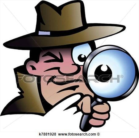 Investigator Clipart.