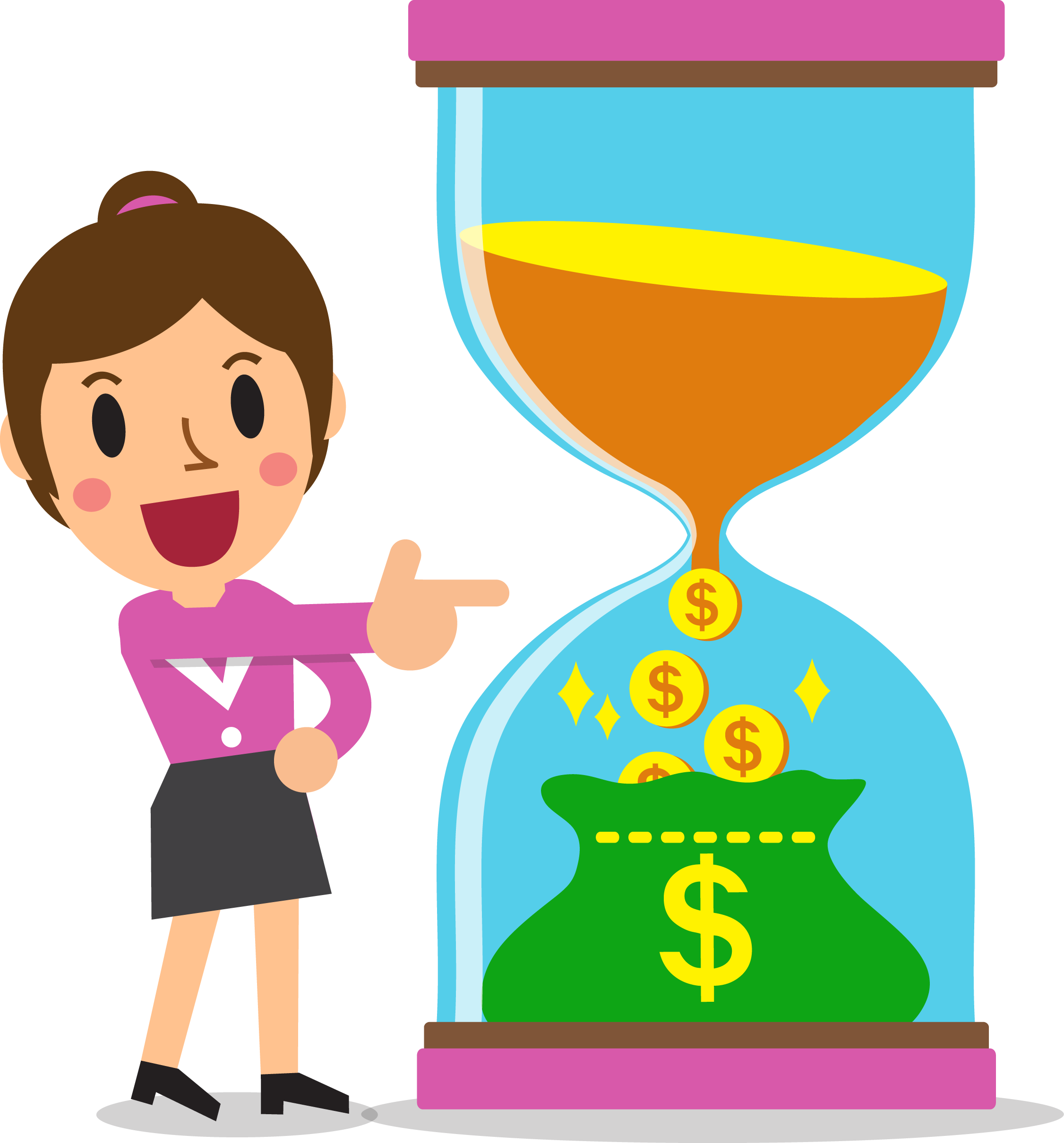 Marketing clipart investment, Marketing investment.