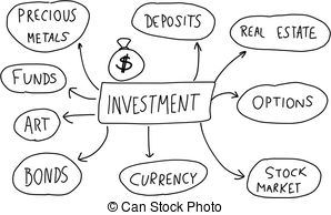 Investments Clip Art.