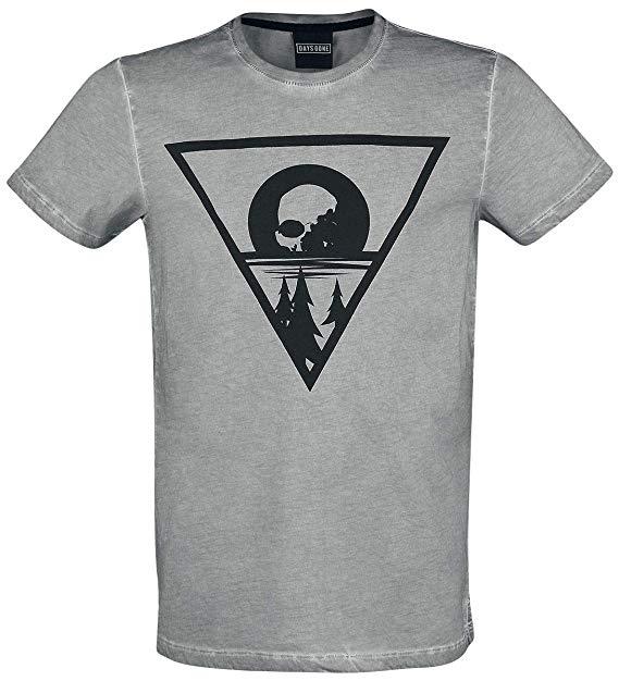 Amazon.com: Days Gone T Shirt Morior Invictus Logo Official.