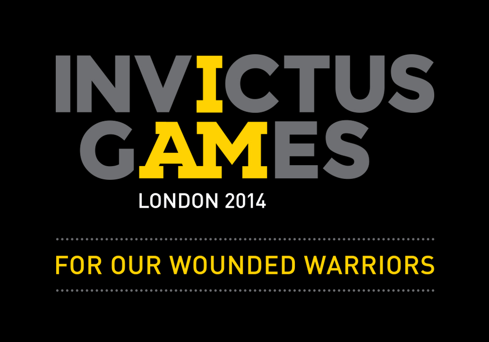 Brand New: New Logo and Identity for Invictus Games by.