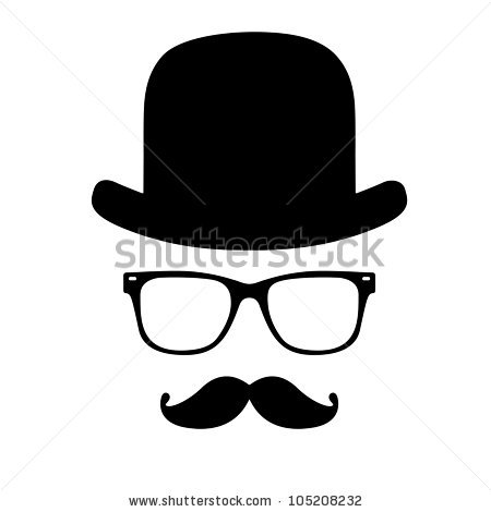 Invisible man clipart.