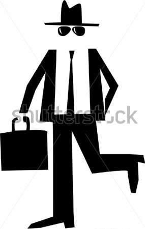 The invisible man clipart.