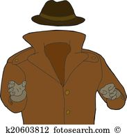 Invisible man Clipart and Illustration. 242 invisible man clip art.