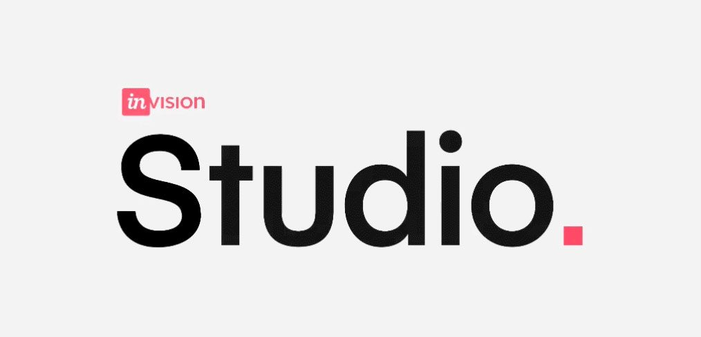 Invision studio logo animation.
