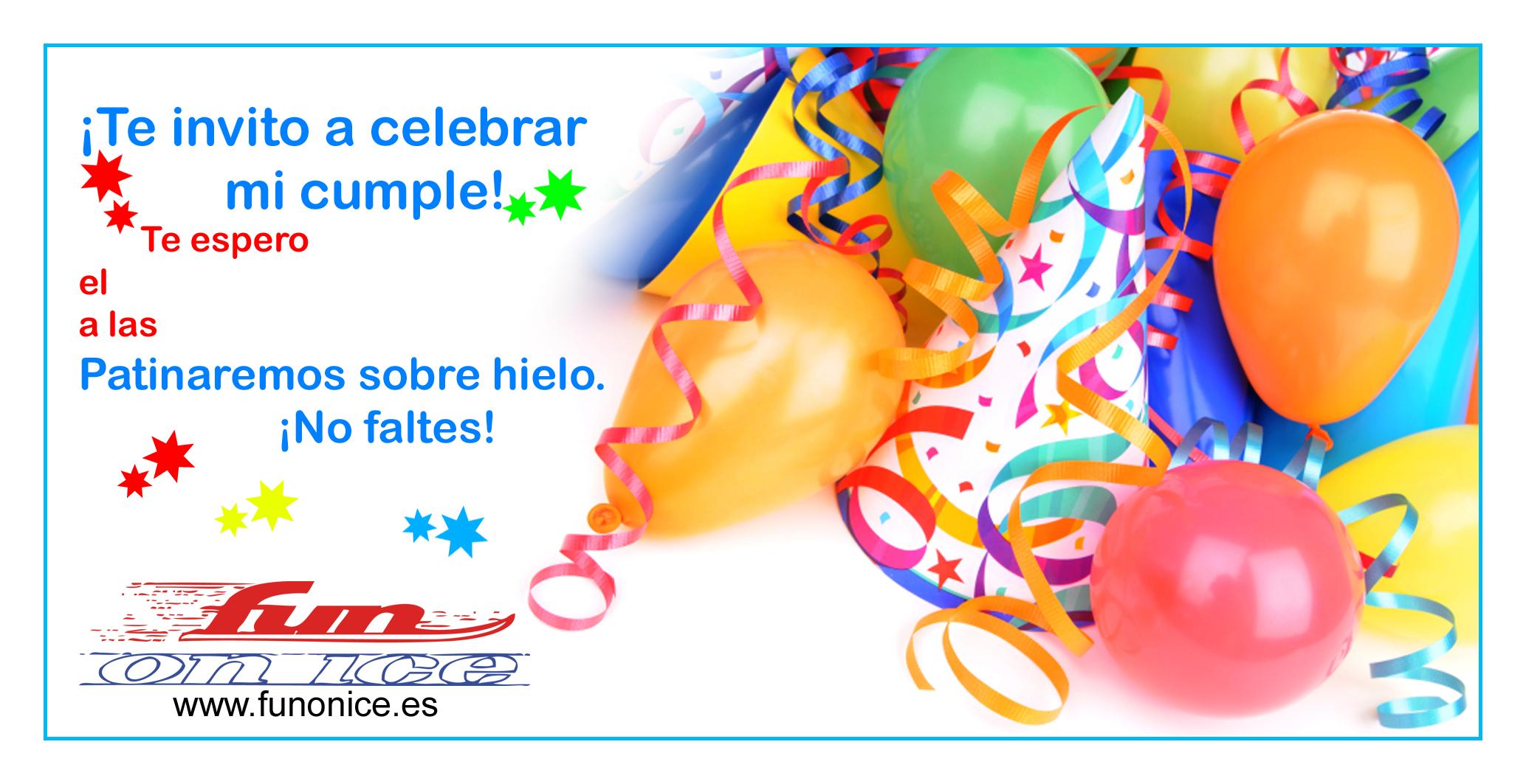 Invitaciones De Cumpleaños Virtuales.