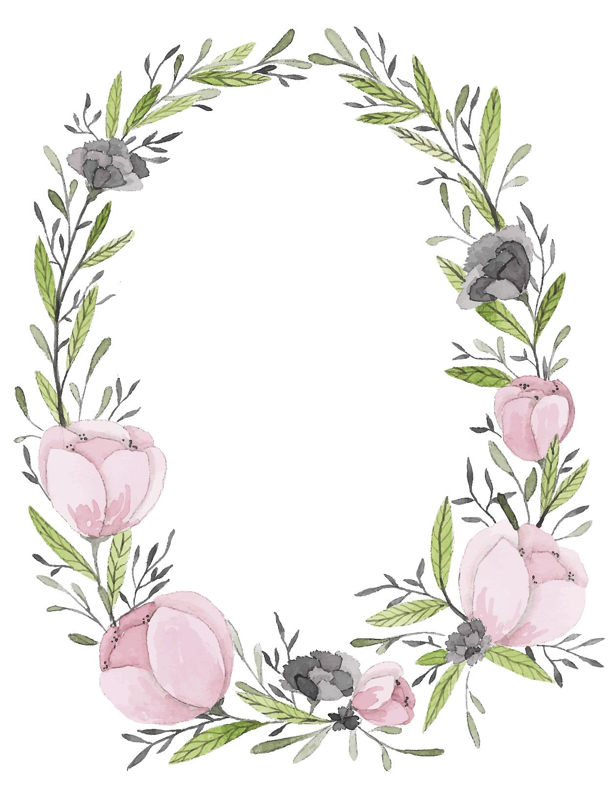 Banner clip art flower, Banner clip art flower Transparent.