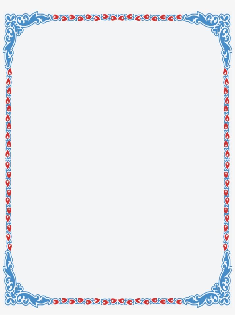 Image Result For Pretty Color Page Borders Clip Art.