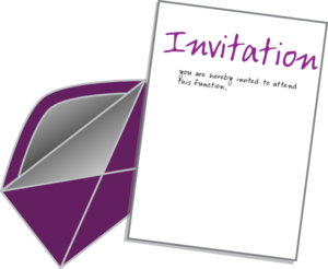 Invitation Clip Art & Invitation Clip Art Clip Art Images.