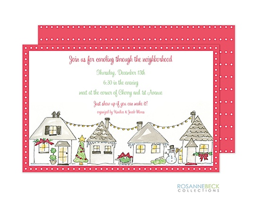Kids and Family Christmas Party Invitations New for 2016.