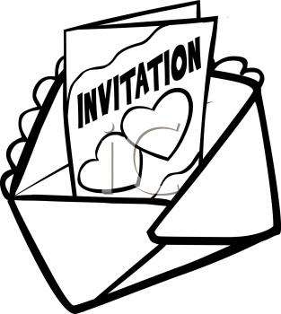 Wedding Invitations Clipart.