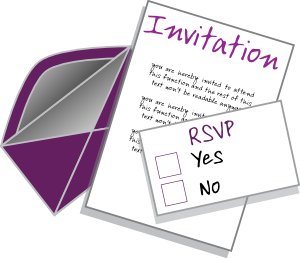 Invitation Clip Art at Clker.com.