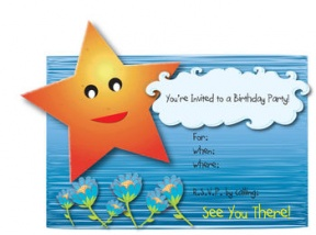 Birthday Invites Clipart.
