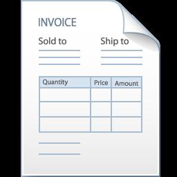 Invoice Pictures Clip Art.