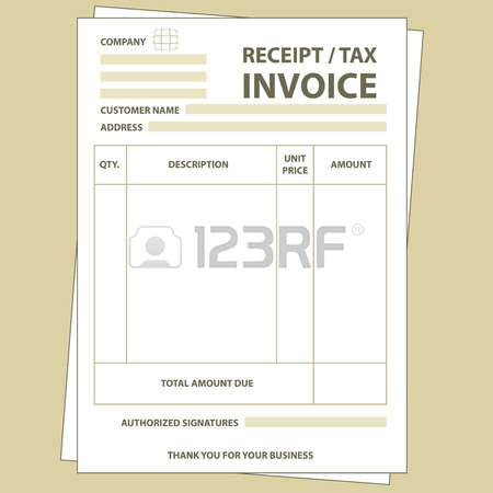 6,040 Invoice Stock Illustrations, Cliparts And Royalty Free.