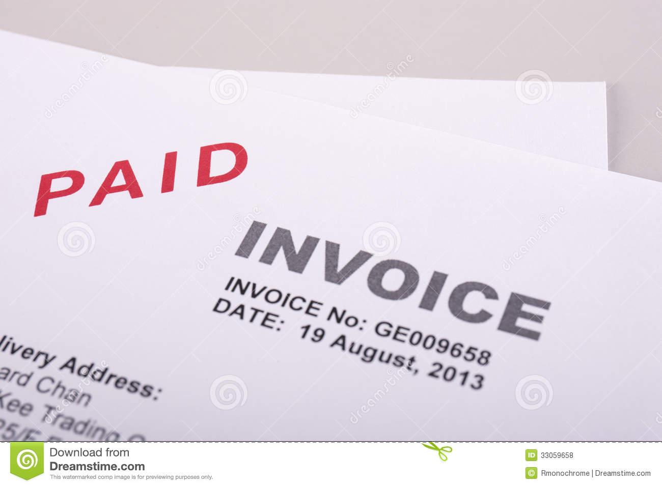 Invoice Clip Art Free.