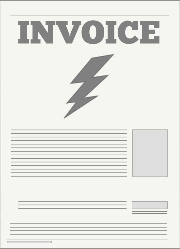 Invoice Clipart.