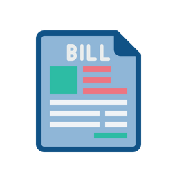 Product, Bill, Invoice, Purchase, Receipt, Document, File Icon of.