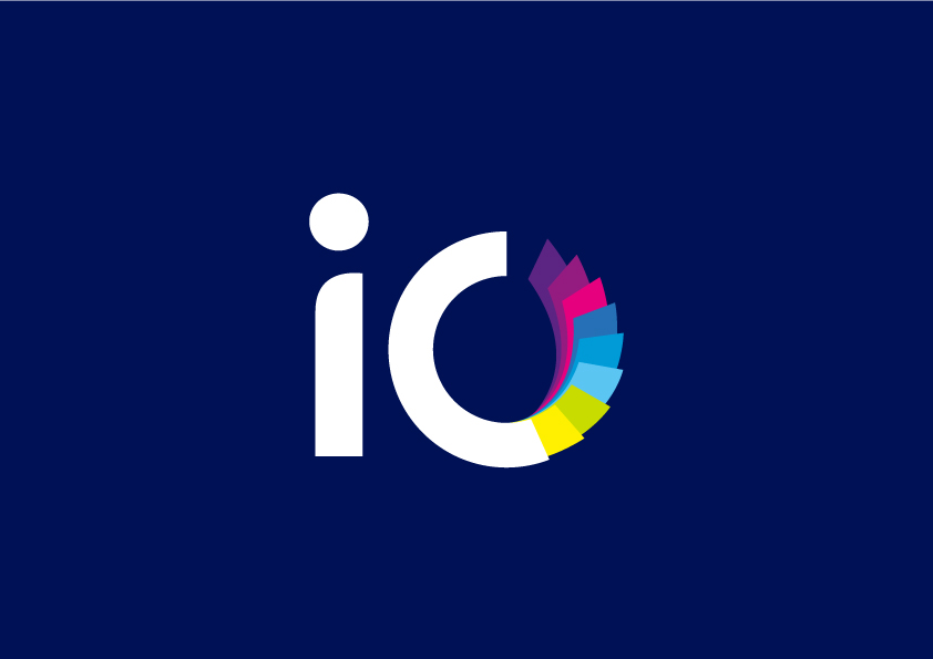 Brand New: New Name, Logo, and Identity for iO by Moving Brands.