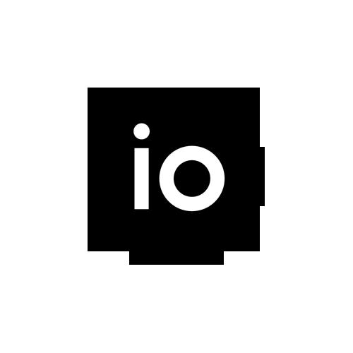 IO data center logo.