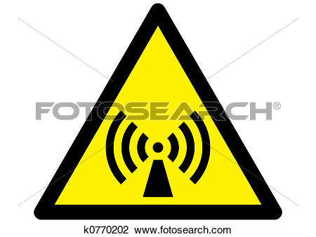 Clip Art of Non ionizing Radiation Ha k0770202.