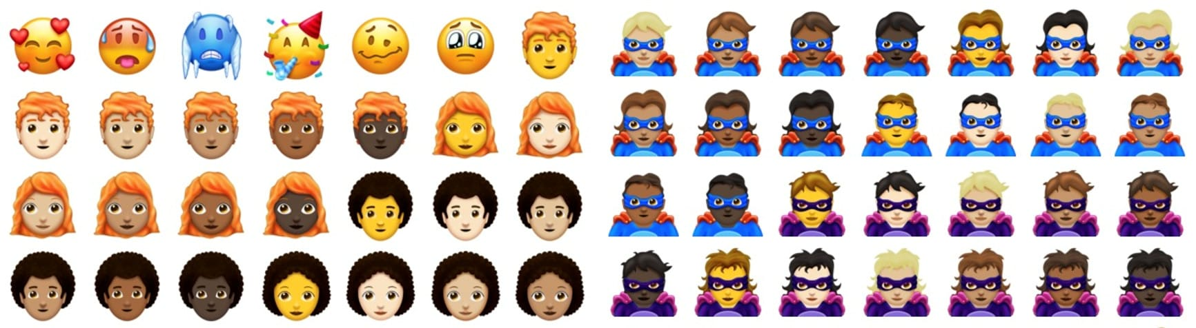 157 new emoji are coming in 2018, including redheads and.