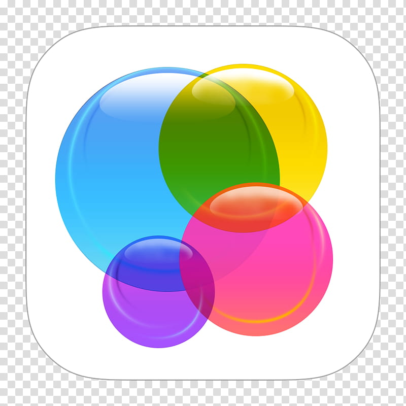 IOS Icons, Game Center transparent background PNG clipart.