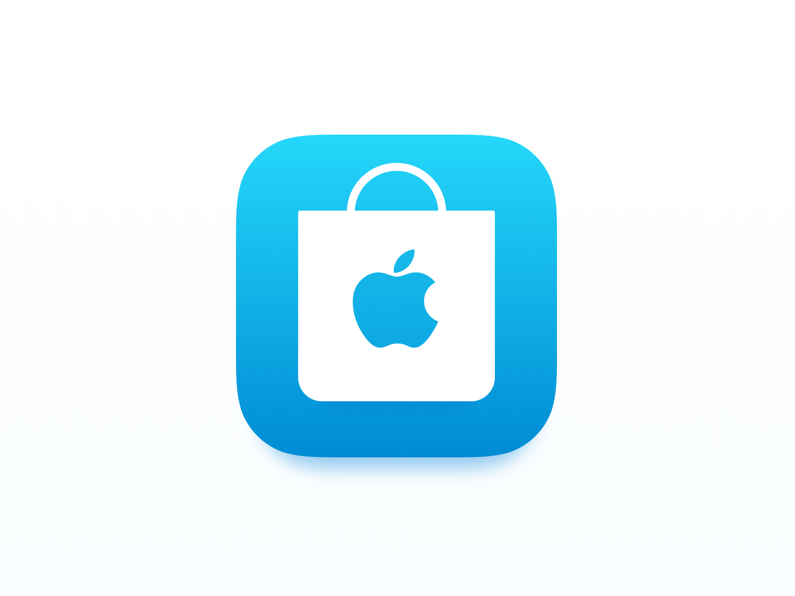 Apple Store iOS 11 App Icon.